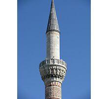 A minaret of Bayezid Mosque Photographic Print