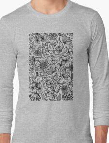 Her Paper Garden Long Sleeve T-Shirt