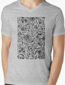 Her Paper Garden Mens V-Neck T-Shirt