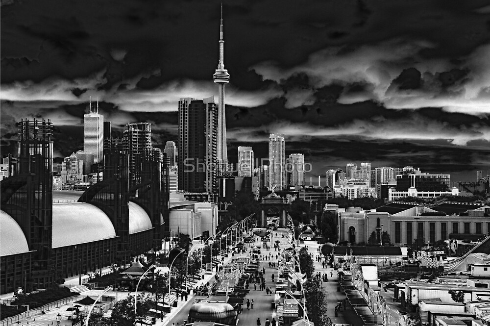 Toronto and the Ex by ShotwellPhoto