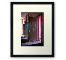 ♫ Every day you grow your nose hair... Framed Print