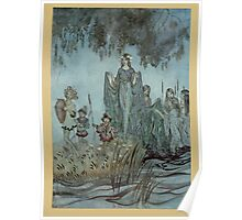 Comus Illustrated by Arthur Rackham 1921 0177 Along the Water's Edge Poster