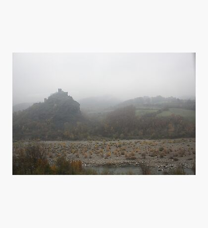 Fog in the hills  Photographic Print