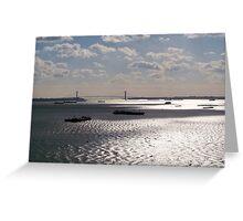 The Hudson River Greeting Card