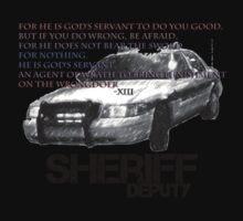 Sheriff Deputy - Romans 13 by Brett Wicker