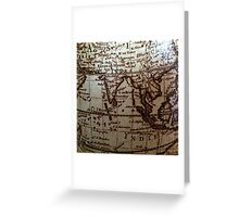 World Journey Greeting Card