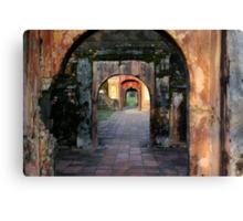 Hue Citadel Arch Canvas Print