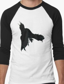 Black Raven Men's Baseball ¾ T-Shirt