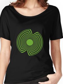 Abstract spirograph flower Women's Relaxed Fit T-Shirt