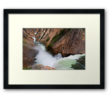 A View From The Brink #1 Framed Print