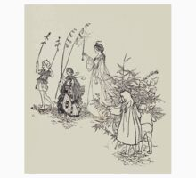 The Zankiwank & the Bletherwitch by Shafto Justin Adair Fitz Gerald art Arthur Rackham 1896 0079 Titania Kids Tee