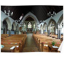 ST PAULS CHURCH. Poster