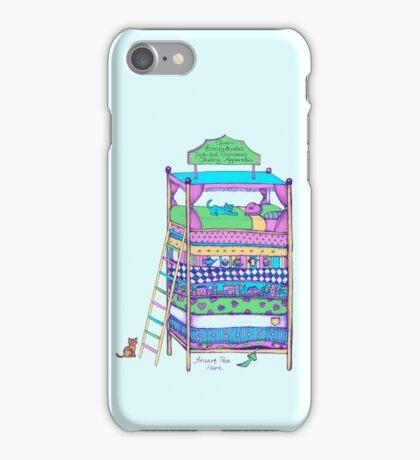 Queen Ermintrude's Patented Princess Testing Apparatus iPhone Case/Skin