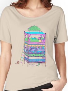 Queen Ermintrude's Patented Princess Testing Apparatus Women's Relaxed Fit T-Shirt