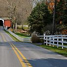 Erb's Mill Covered Bridge 2 by Monte Morton