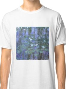 Monet - Blue Waterlilies Classic T-Shirt