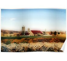Amish Homestead Poster