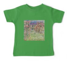 Monet - House Among the Roses Baby Tee