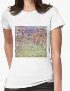 Monet - House Among the Roses T-Shirt