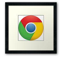 Google Chrome Framed Print