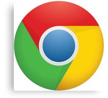 Google Chrome Canvas Print