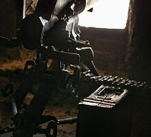 First World War machine gun post, Monte Lagazuoi, Dolomiti, Italy by Andrew Jones