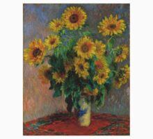Monet - Sunflowers One Piece - Short Sleeve