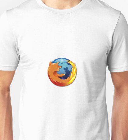 Firefox logo Unisex T-Shirt