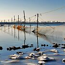 Fishing nets in Lake Veere by Adri  Padmos