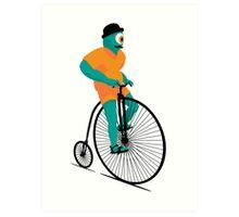 Bicyclops Art Print