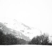 Snowstorm, Edinburgh by onlyalice