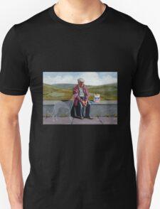 I wonder if the ol' girl misses me as much.. Unisex T-Shirt