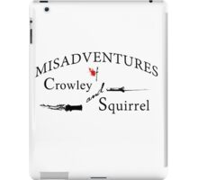 Misadventures of Crowley & Squirrel Ver.2 iPad Case/Skin