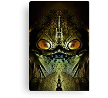 Zillon from the Planet Tharg Canvas Print