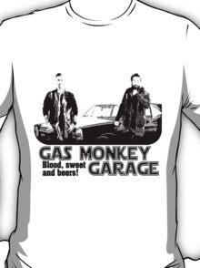 gas monkey garage shiluet retro T-Shirt