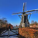 "Gristmill ""The Poel"" at Nisse by Adri  Padmos"