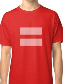 Equal Love Classic T-Shirt
