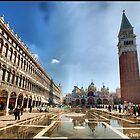 Venecia (Italia). Piazza de San Marco (Vista Panoramica). by josemazcona