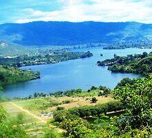 a sprawling Central African Republic landscape by beautifulscenes