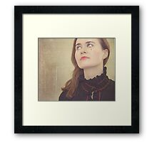 Crying blood Framed Print