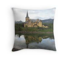 My favourite photograph from Lofoten Throw Pillow