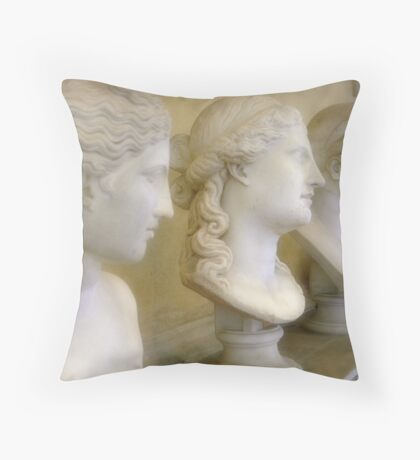 Vatican Busts Throw Pillow