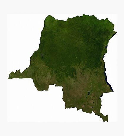 an awesome Central African Republic landscape Photographic Print