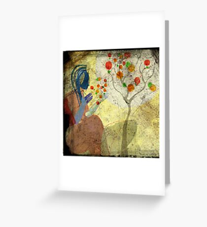 a whisper for mother nature 2 Greeting Card