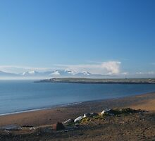 Fenit strand and promenade Christmas 2009 by Paul Woods
