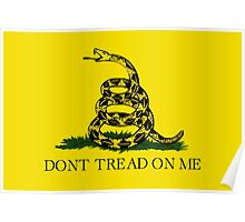 The Gadsden Flag - Don't Tread On Me Poster