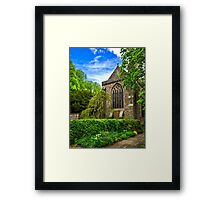 Brecon Cathedral Framed Print