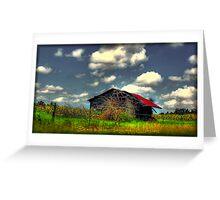 Alabama Barn Greeting Card