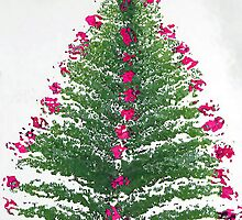 A Christmas Tree Bush by RoyAllen Hunt
