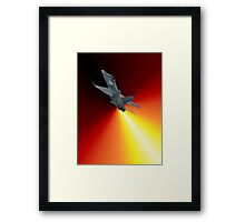 Shoot For The Sky - RAAF F/A-18 Design Framed Print